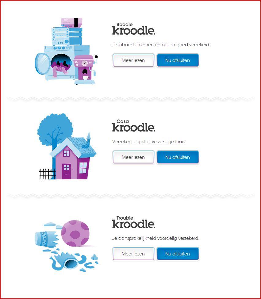 De producten van Kroodle.